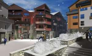 Skiing in Levi