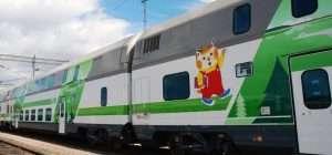Helsinki Rovaniemi train