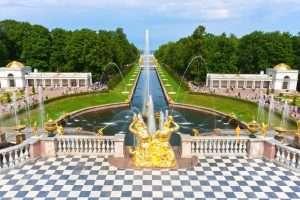 Peterhof half day tours