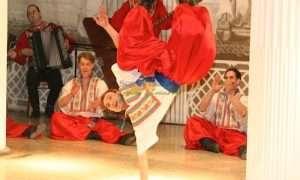 Russian Folklore dance in St Petersburg