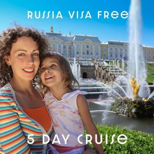 Russia Visa Free tour