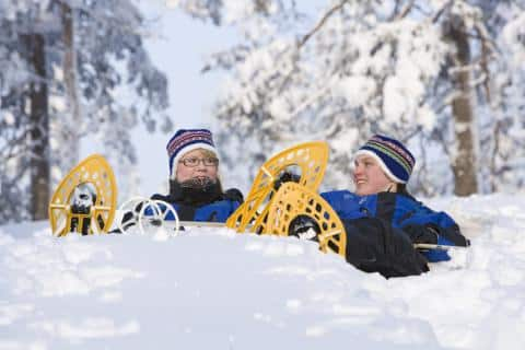 Try all winter activities during the Finnish Lapland trip