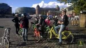 Bike tour of Helsinki