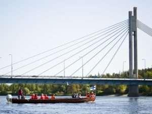 River cruise in Rovaniemi