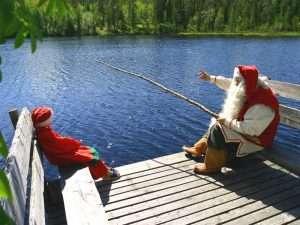 Visit Santa's home in Rovaniemi