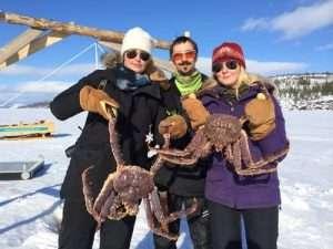 king crab fishing in Kirkenes