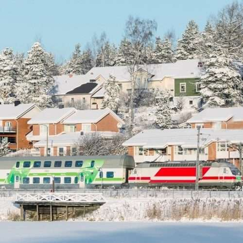 Go to Rovaniemi by Santa Claus Express train