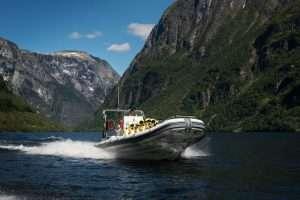 Fjord safari in Norway