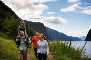 Norwegian fjord excursion in Flam