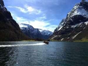 Norwegian fjord tour by rib boat